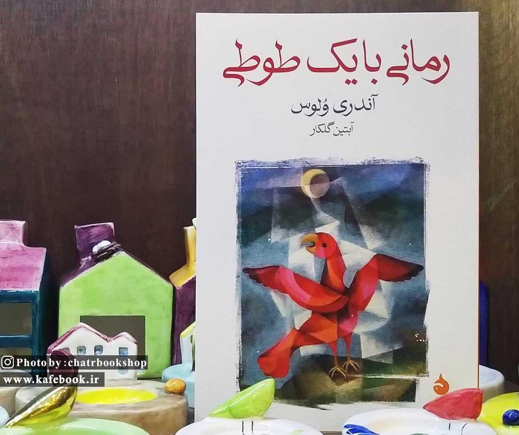 معرفی کتاب رمانی با یک طوطی