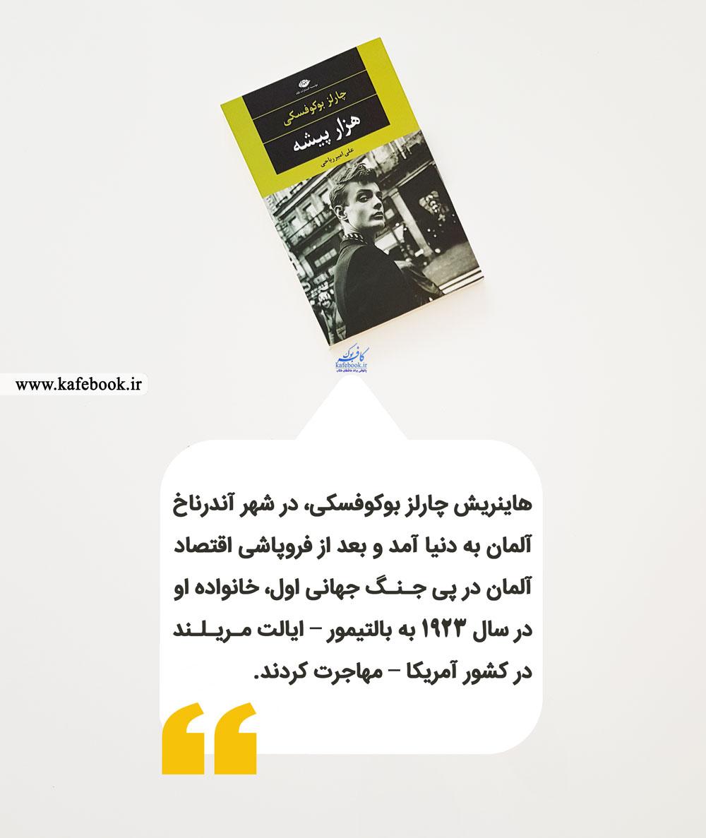 خلاصه کتاب هزار پیشه